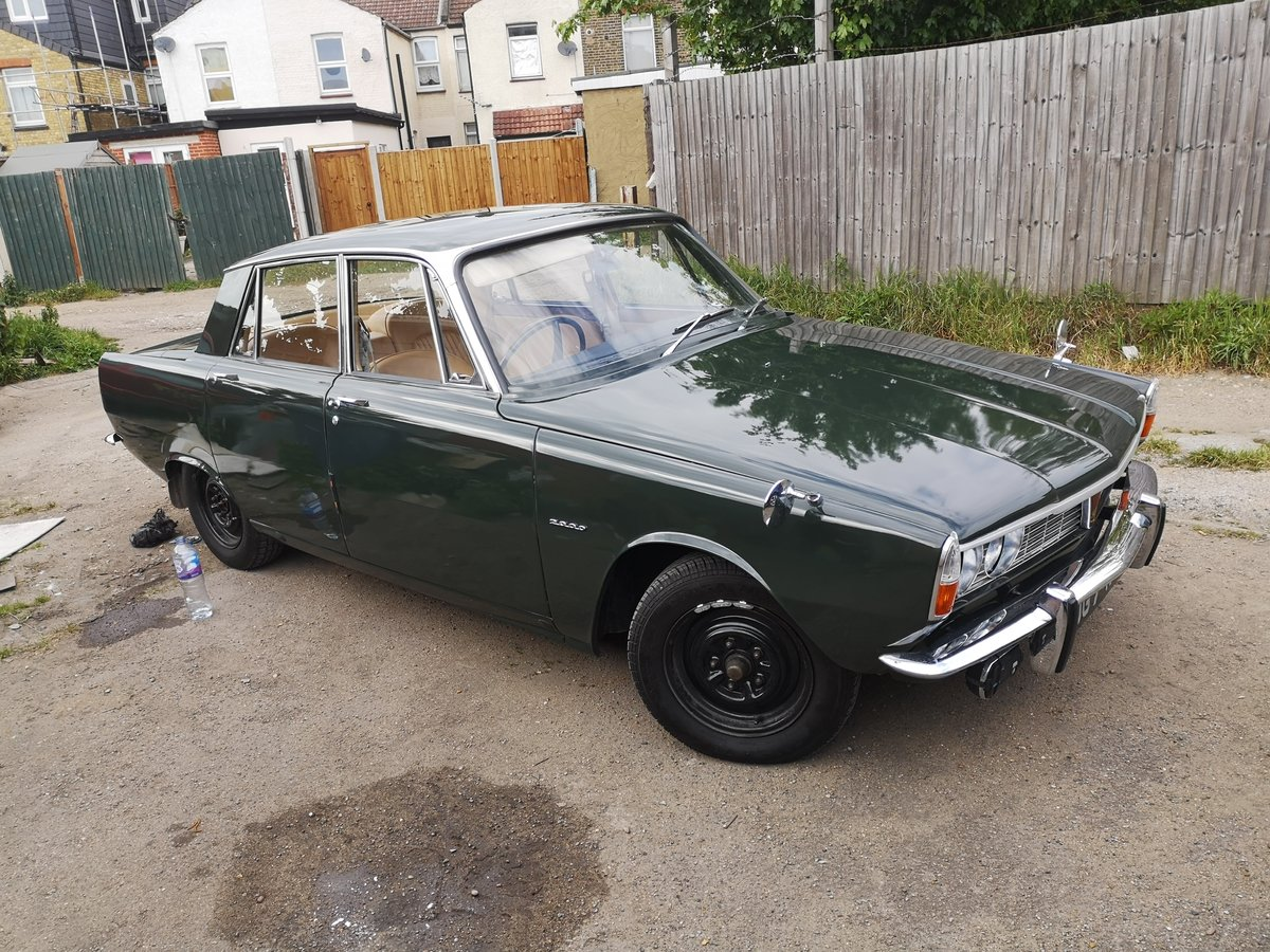 1966 Rover p6 For Sale (picture 4 of 6)