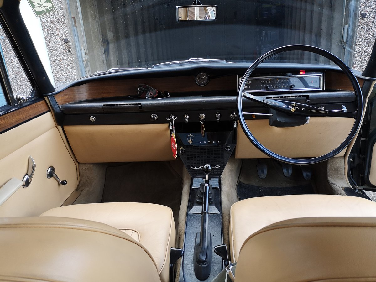 1966 Rover p6 For Sale (picture 5 of 6)