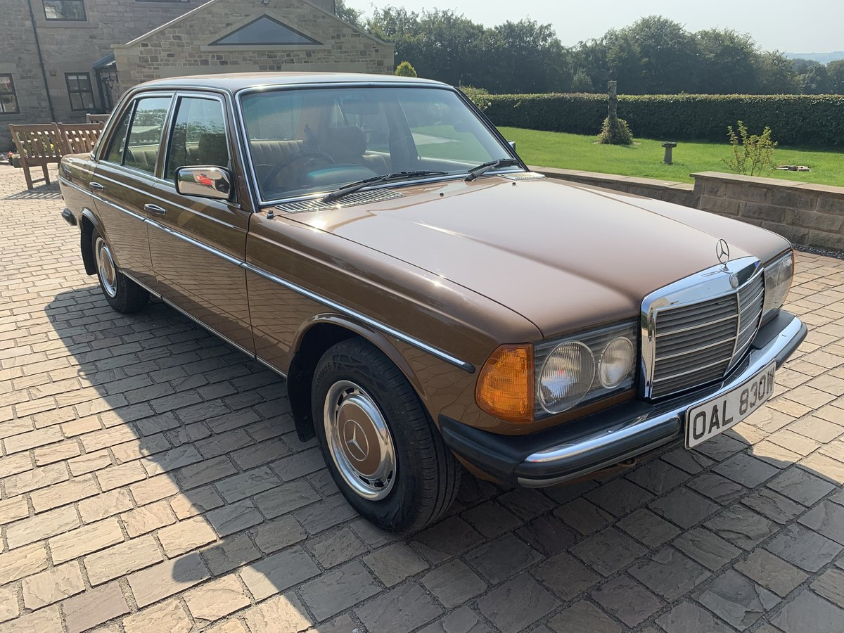 1981 Mercedes 240D W123 For Sale | Car And Classic