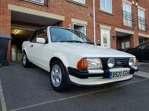Ford Escort 1.6i Cabriolet.  Now sold!!