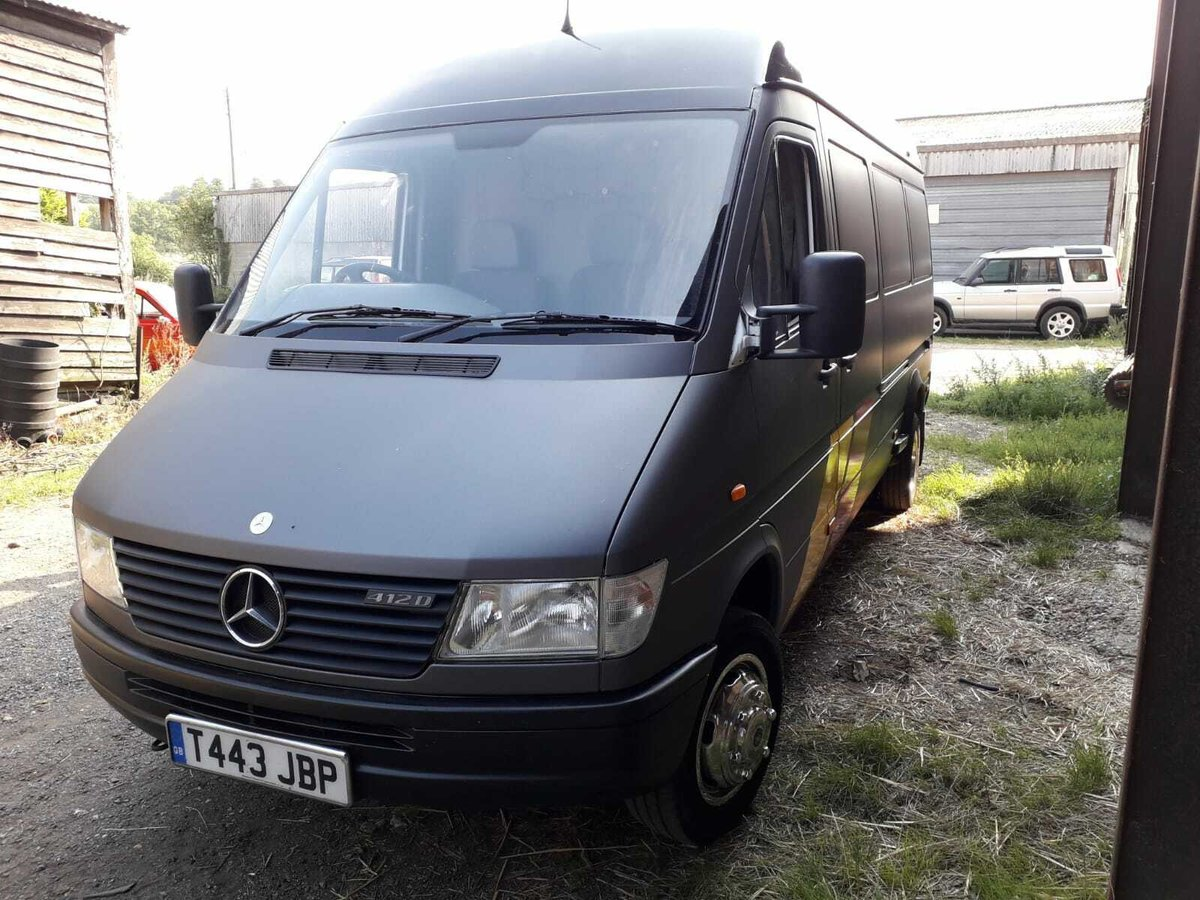 1999 MERCEDES SPRINTER 412 RACE/RALLY/SERVICE VAN For Sale (picture 1 of 5)