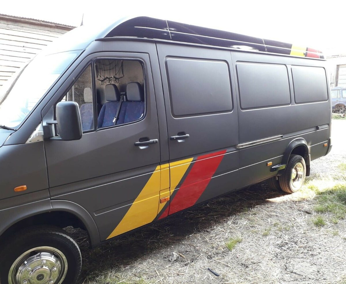 1999 MERCEDES SPRINTER 412 RACE/RALLY/SERVICE VAN For Sale (picture 2 of 5)