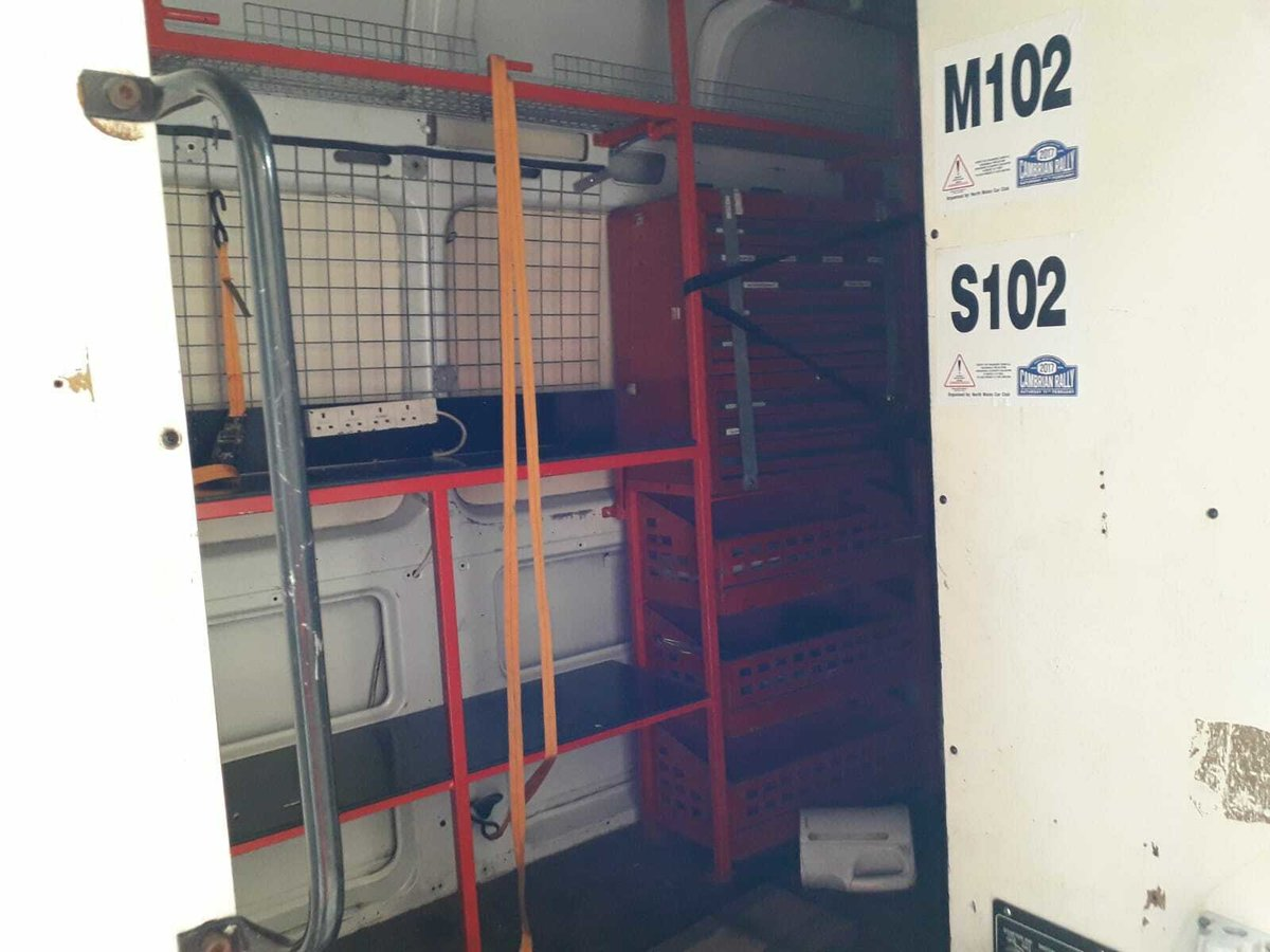 1999 MERCEDES SPRINTER 412 RACE/RALLY/SERVICE VAN For Sale (picture 5 of 5)