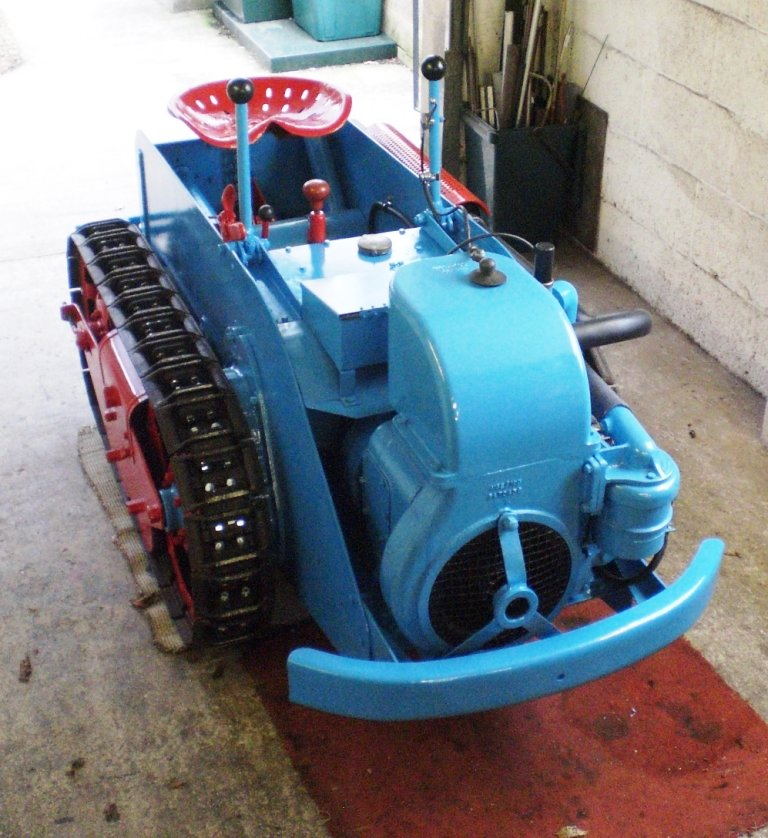 1949 RANSOMES MG5 TRACTOR  For Sale (picture 2 of 5)
