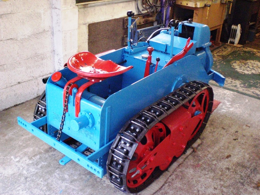 1949 RANSOMES MG5 TRACTOR  For Sale (picture 3 of 5)