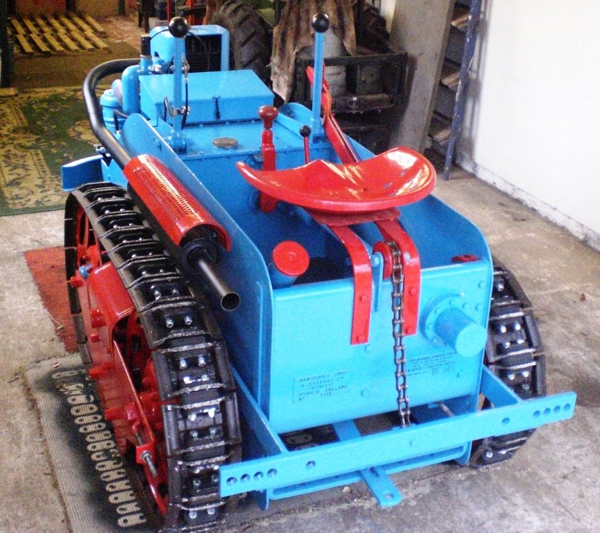 1949 RANSOMES MG5 TRACTOR  For Sale (picture 4 of 5)