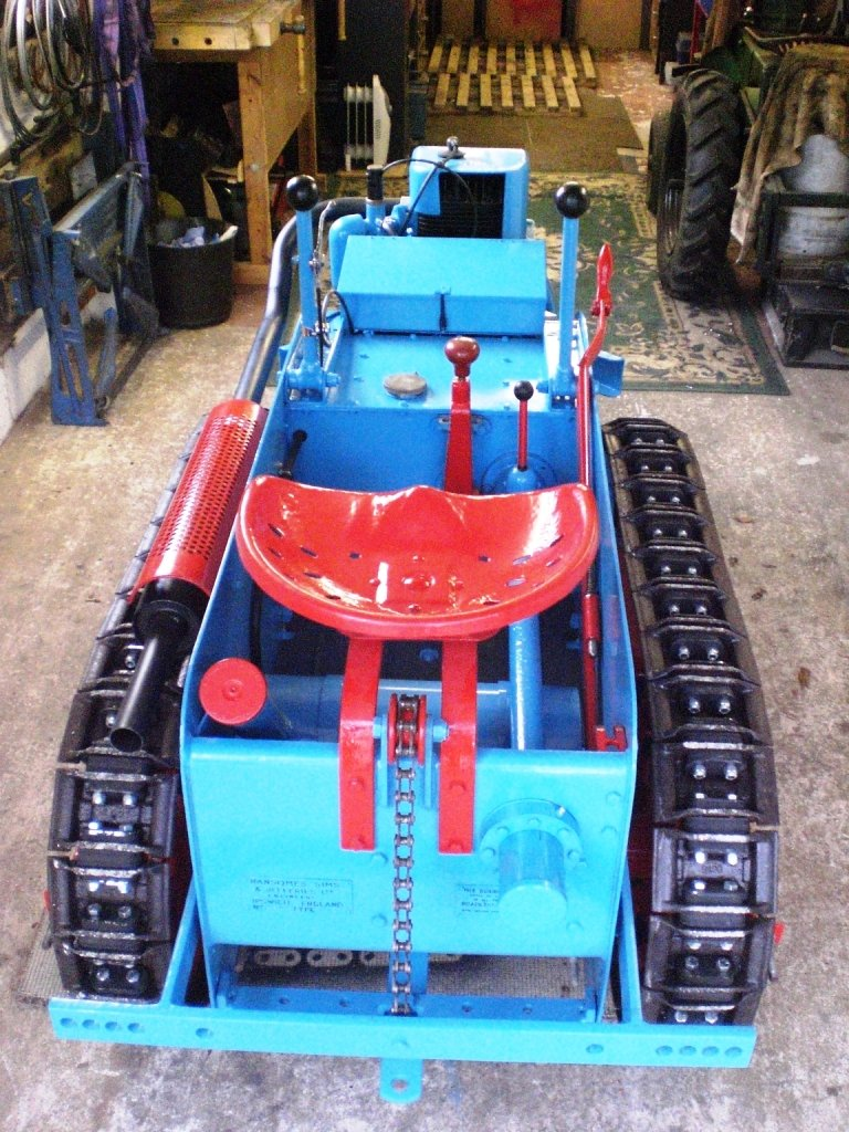 1949 RANSOMES MG5 TRACTOR  For Sale (picture 5 of 5)