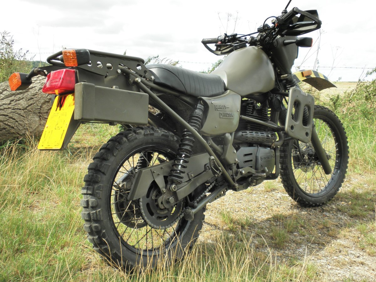 1995 Harley Davidson MT350 Ex Army military motorcycle For Sale (picture 1 of 6)