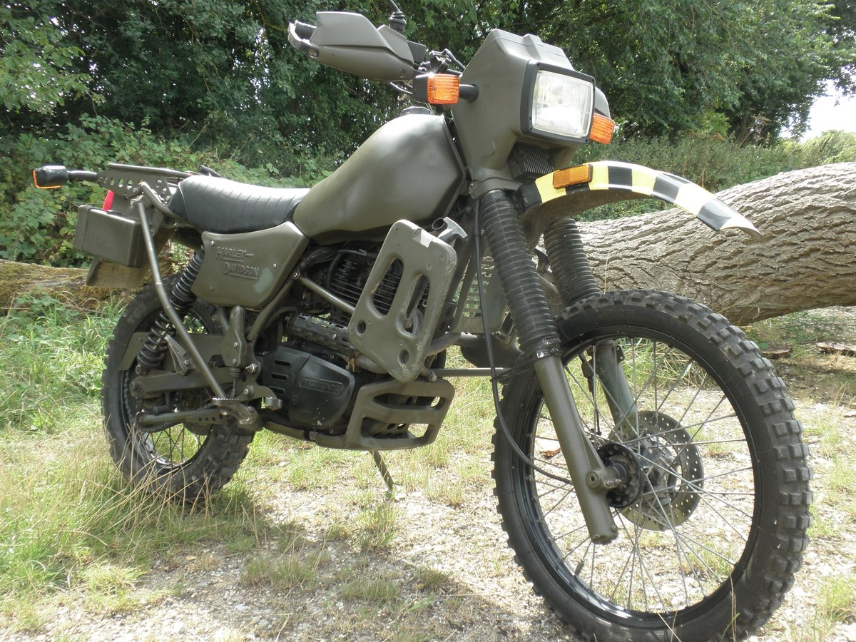 1995 Harley Davidson MT350 Ex Army military motorcycle For Sale (picture 2 of 6)