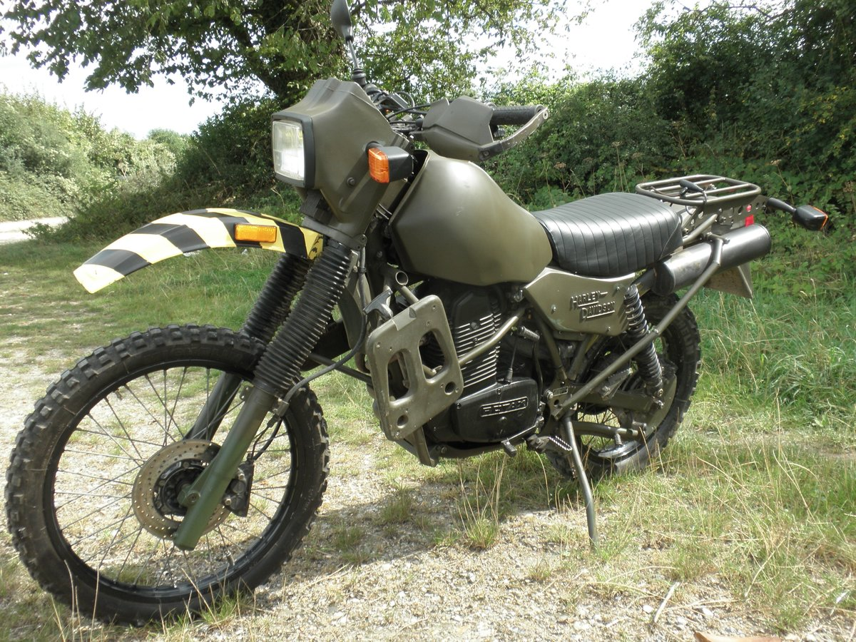 1995 Harley Davidson MT350 Ex Army military motorcycle For Sale (picture 3 of 6)