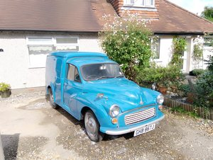 1971 Morris Minor Van For Sale