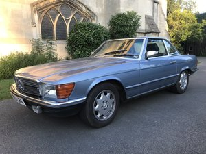 1985 MERCEDES WANTED 500sl / 420sl / 300sl / R107