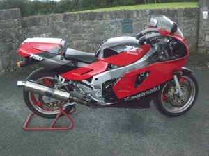 Kawasaki ZXR 750 H1 1989 Red/Black For Sale