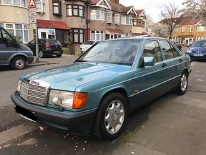 1993 Beautiful Mercedes 190E 2.6 Only 89,272 Miles For Sale