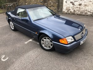 1994 SL320 R129 Blue For Sale