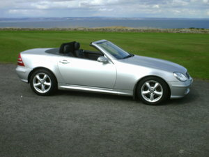 2001 Mercedes SLK200 Kompressor For Sale