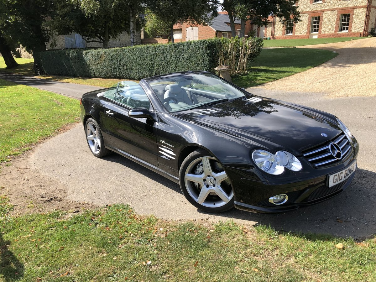 2007 SL55 AMG Class Beautiful Example For Sale (picture 2 of 6)