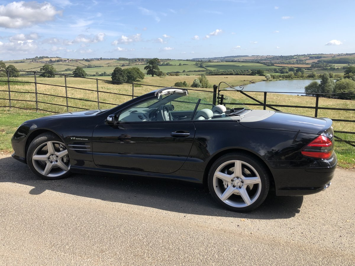 2007 SL55 AMG Class Beautiful Example For Sale (picture 4 of 6)