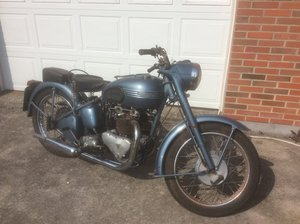 Triumph thunderbird 1953 matching numbers. For Sale