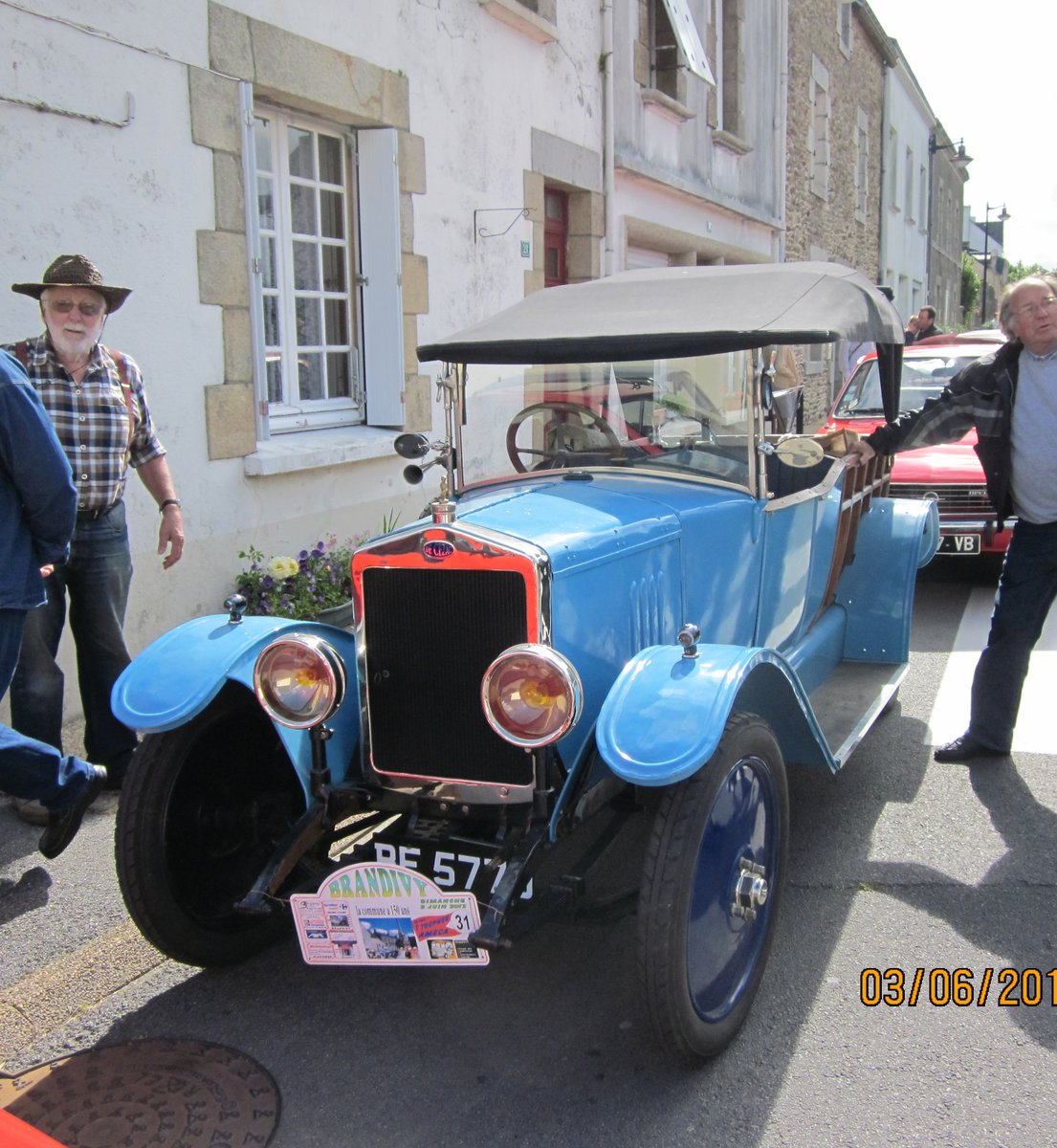 1925 De Cezac camionette vintage French pick-up For Sale (picture 3 of 6)