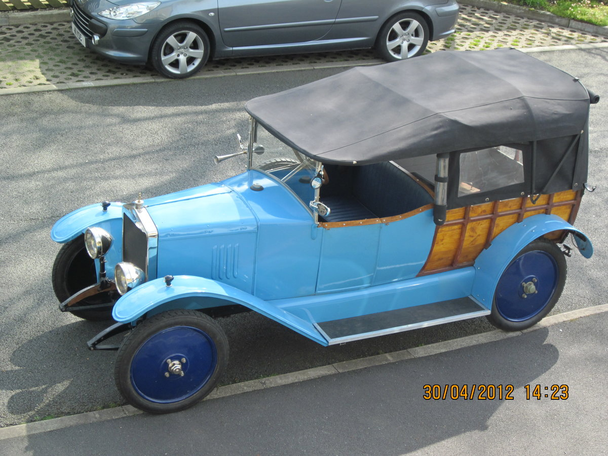 1925 De Cezac camionette vintage French pick-up For Sale (picture 6 of 6)