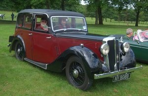 1937 Lanchester 4 door Mulliner saloon For Sale