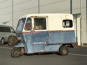 1966 Westcoast Mailster 3 Wheel Piaggio Ape Lambro For Sale