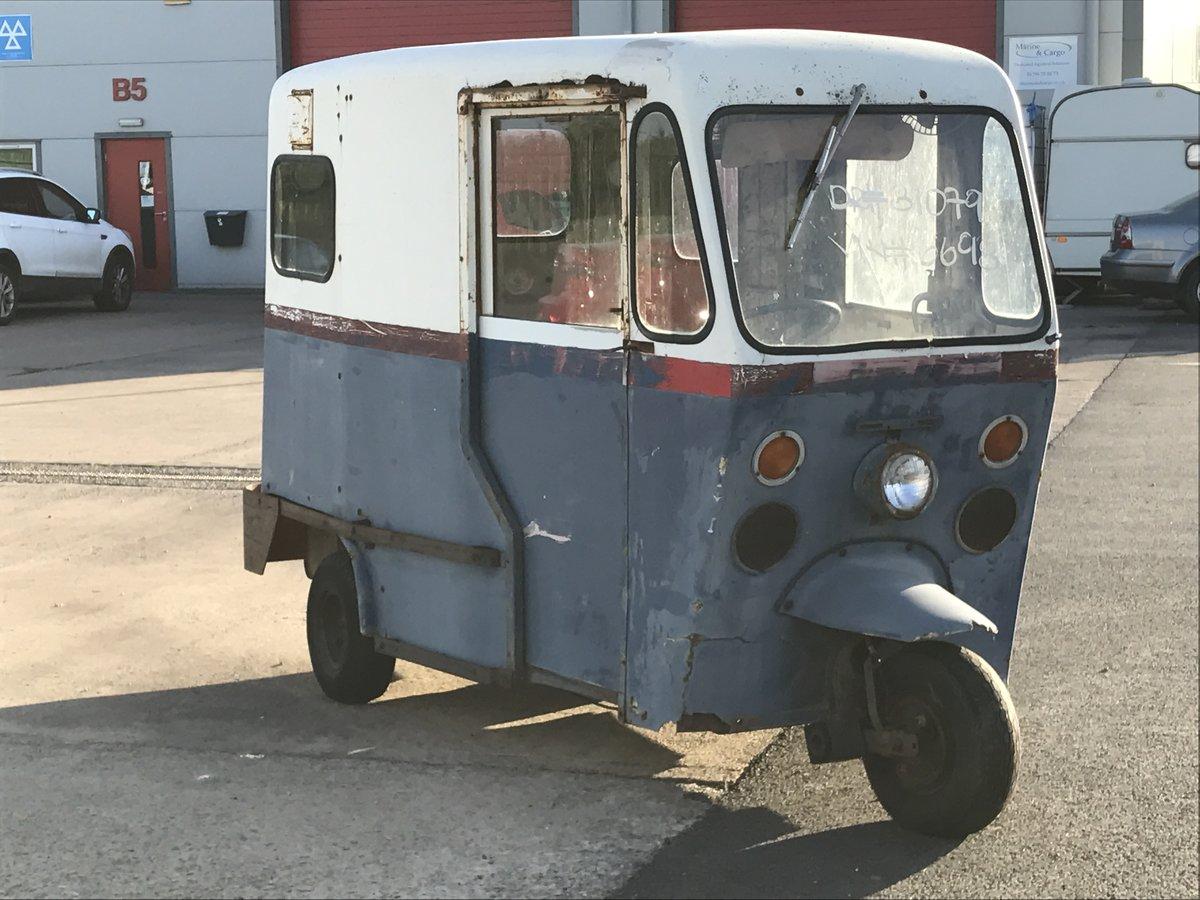 1966 Westcoast Mailster 3 Wheel Piaggio Ape Lambro For Sale (picture 5 of 6)