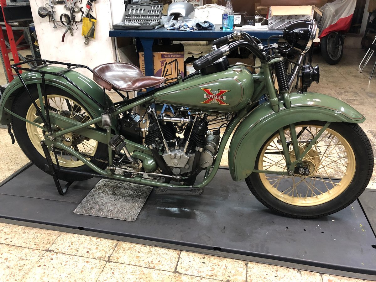1929 Excelsior Super X Streamline  For Sale (picture 1 of 3)