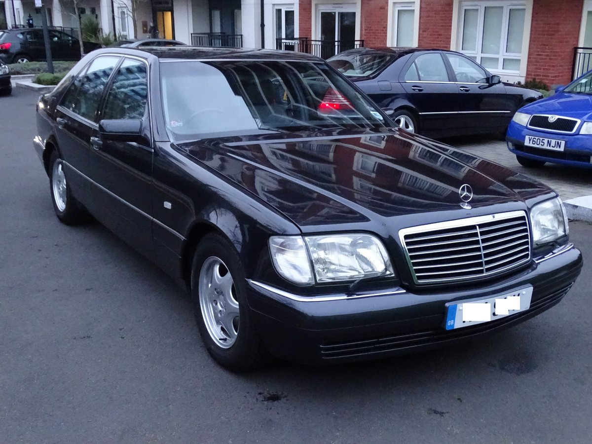 1997 Mercedes S500 (W140)  - No rush to Sell For Sale (picture 1 of 6)