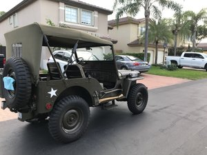 1951 Willy's Jeep Florida plates For Sale