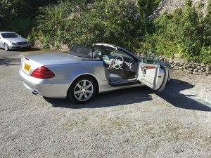 2003 Mercedes-Benz SL500 R230