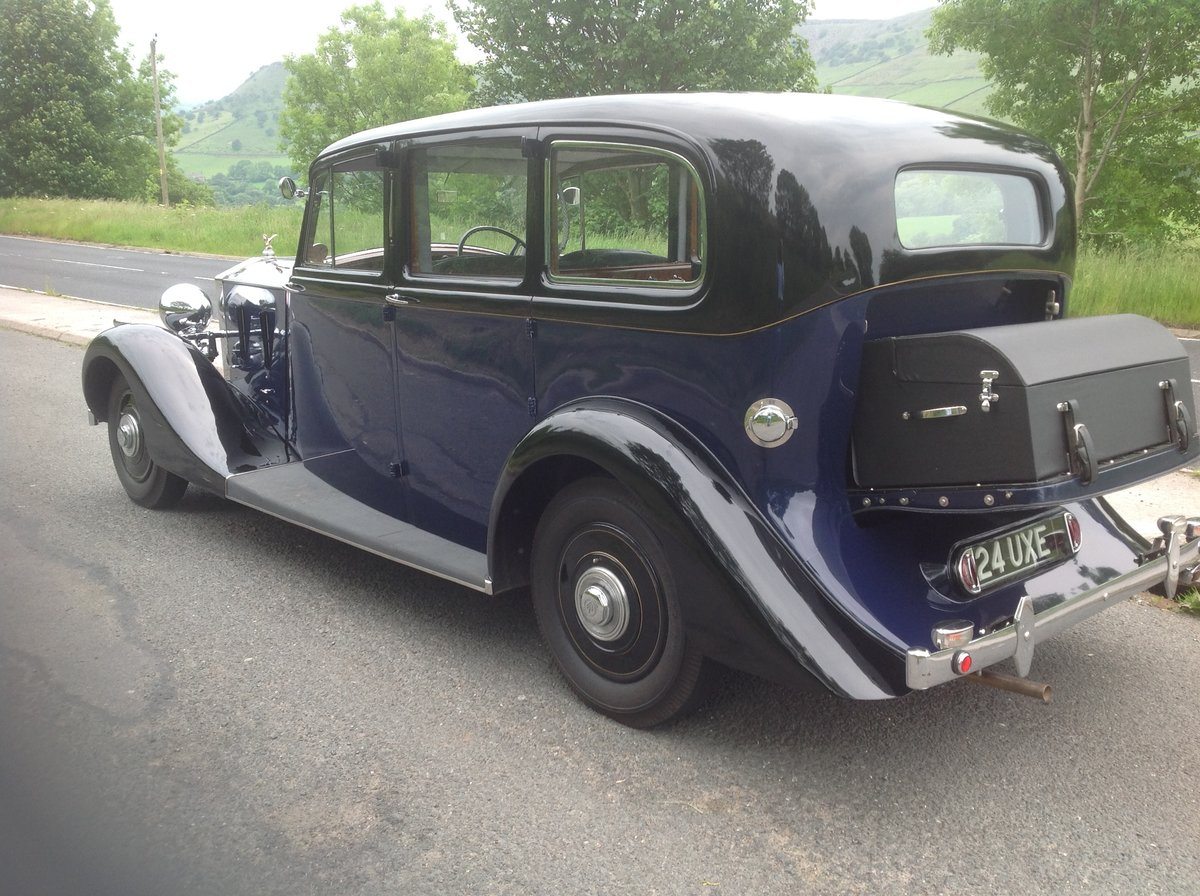 1938 1939 Rolls Royce 25/30 Wraith Park Ward Limousine For Sale (picture 1 of 6)