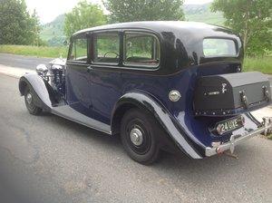 1938 1939 Rolls Royce 25/30 Wraith Park Ward Limousine For Sale