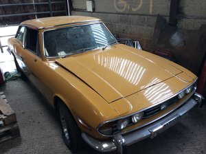 1972 Triumph Stag Manual overdrive barn find.