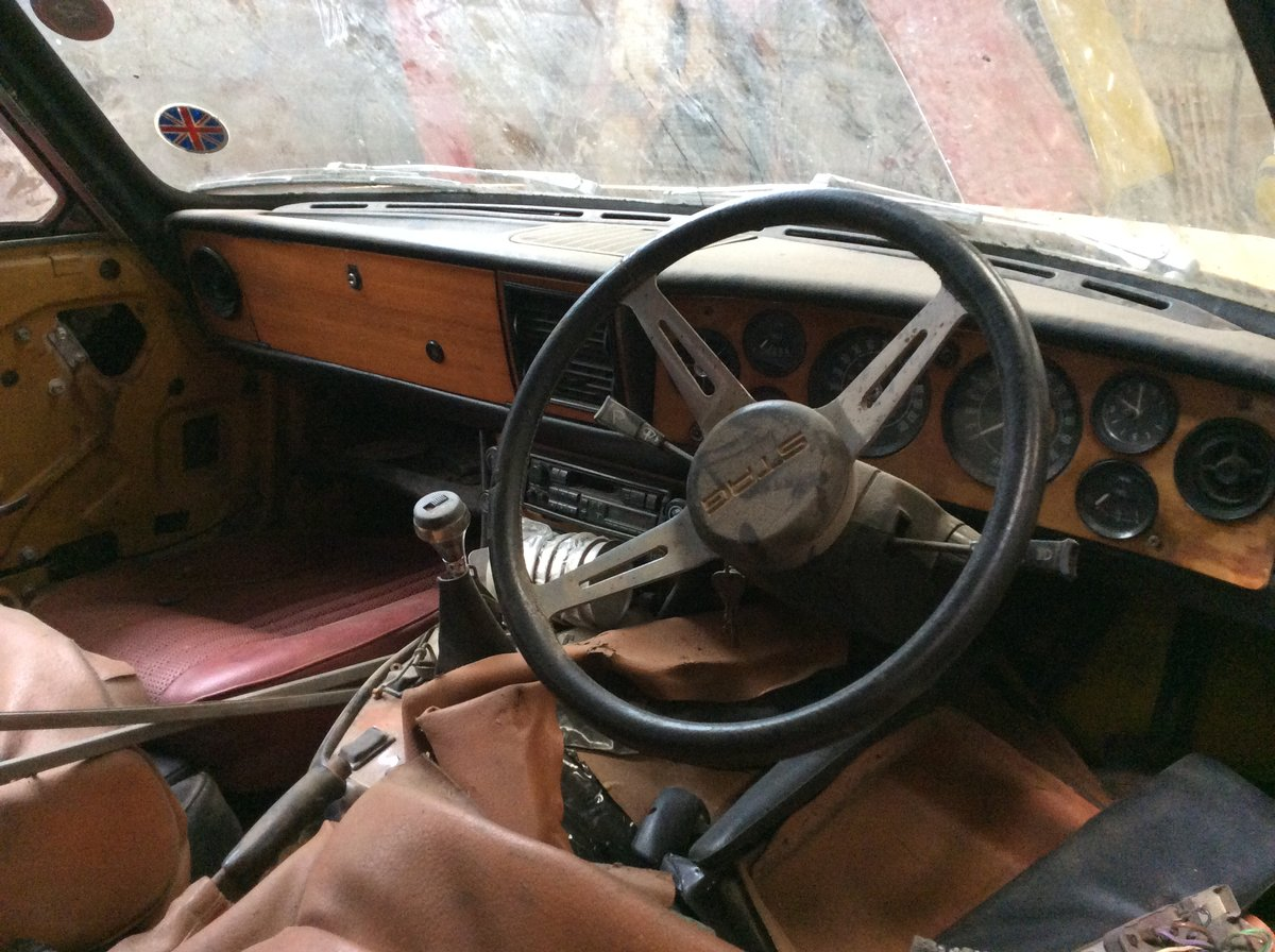 1972 Triumph Stag Manual overdrive barn find. For Sale (picture 5 of 6)