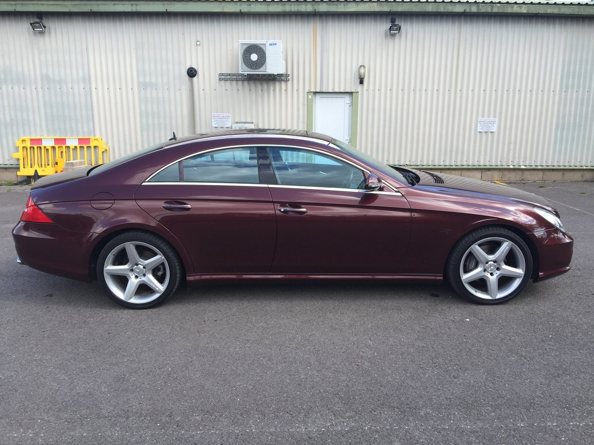 2005 Mercedes CLS 1 owner collectors condition For Sale (picture 1 of 6)