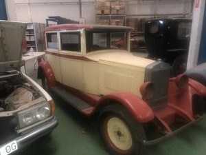 Picture of 1926 Berliet big sedan lyon france