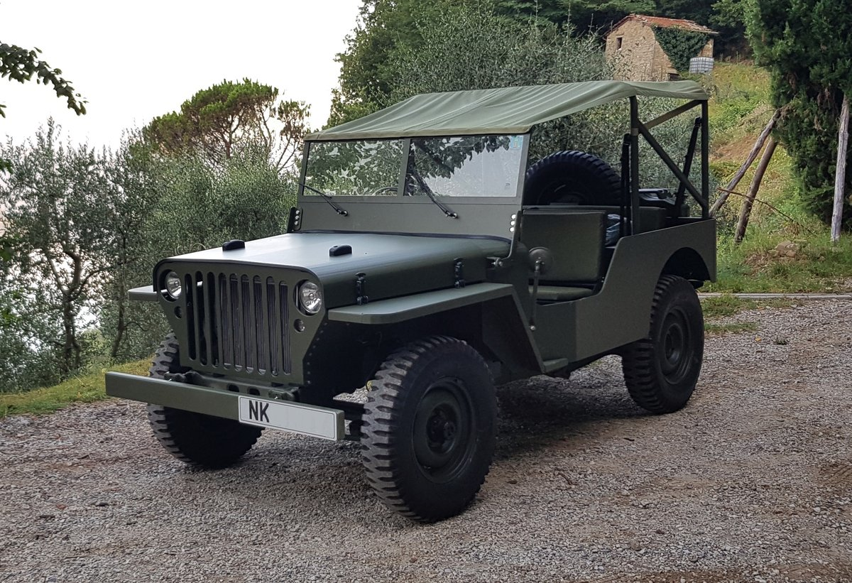 2019 Willys Jeep Reproduction For Sale (picture 1 of 6)