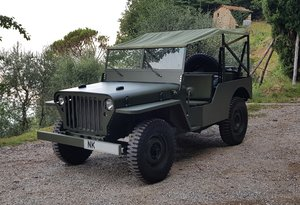 2019 Willys Jeep Reproduction For Sale