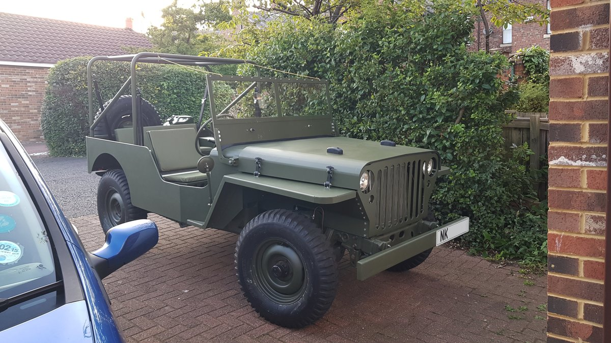 2019 Willys Jeep Reproduction For Sale (picture 2 of 6)