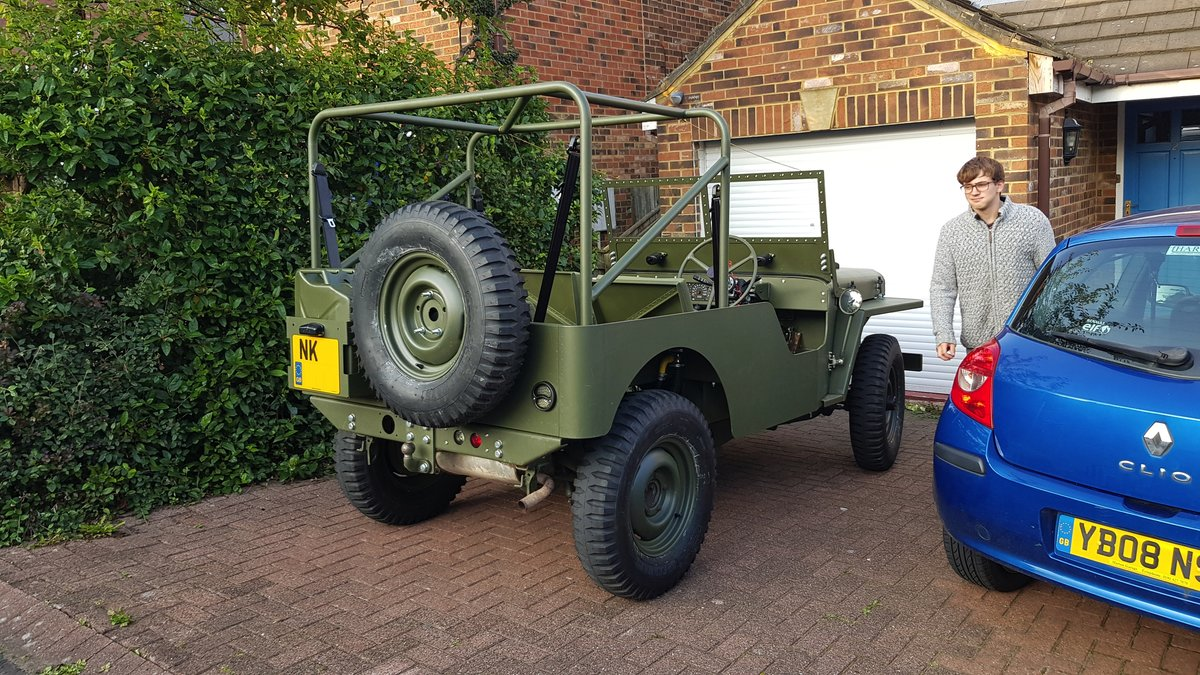 2019 Willys Jeep Reproduction For Sale (picture 3 of 6)