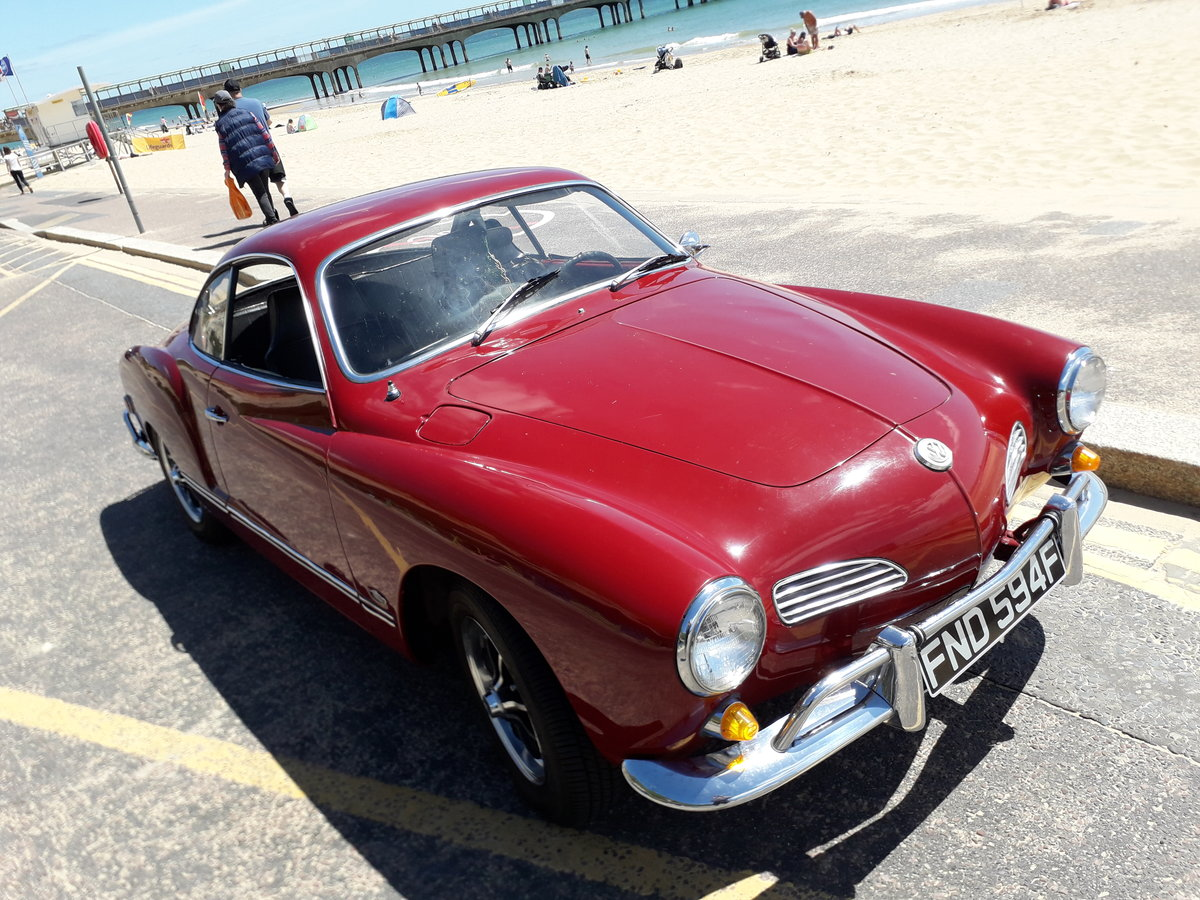1968 Karmann Ghia Coupe Lovely original rust free For Sale (picture 1 of 6)