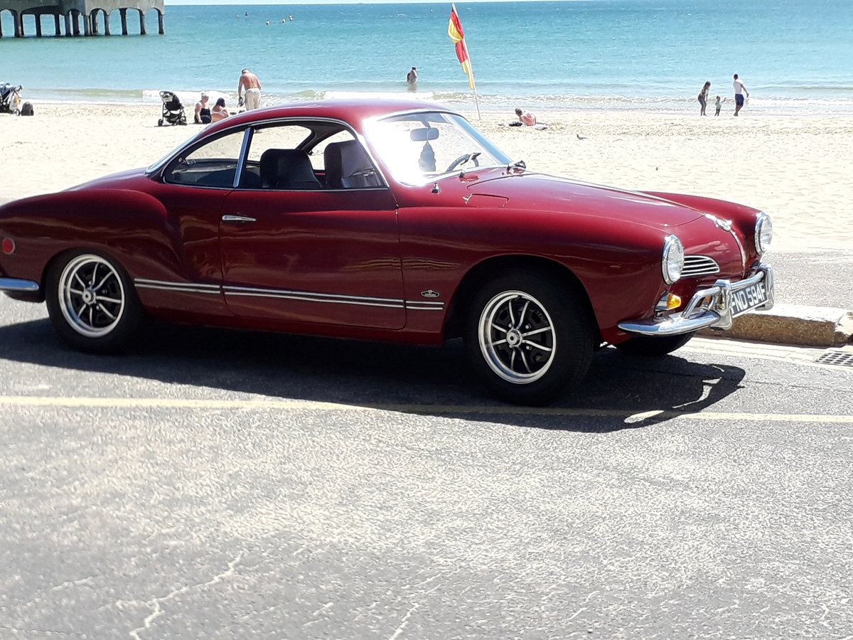 1968 Karmann Ghia Coupe Lovely original rust free For Sale (picture 3 of 6)