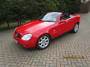 1998 mercedes slk 230 kompressor with 28870 miles