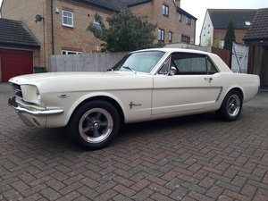 1964 64.5 Ford Mustang Coupe. 289 D code, 4 speed For Sale