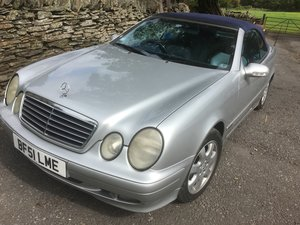 2001 Mercedes True four seater Family cabriolet For Sale