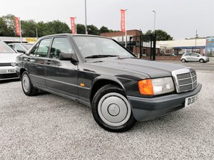 1987 Mercedes 190e - low mileage - 3 prv owners + hist