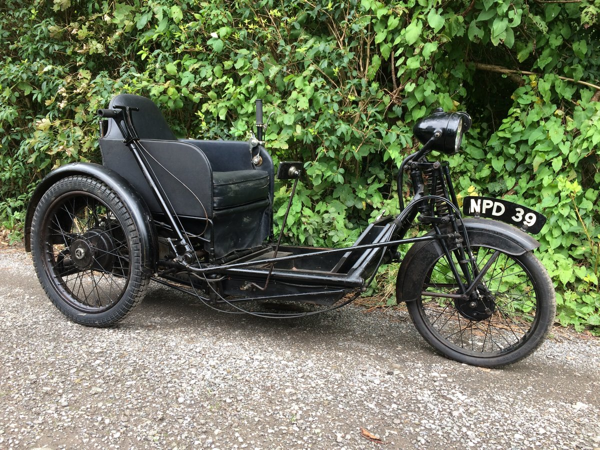 1949 Argson Stanley Villiers Trike. For Sale (picture 1 of 6)
