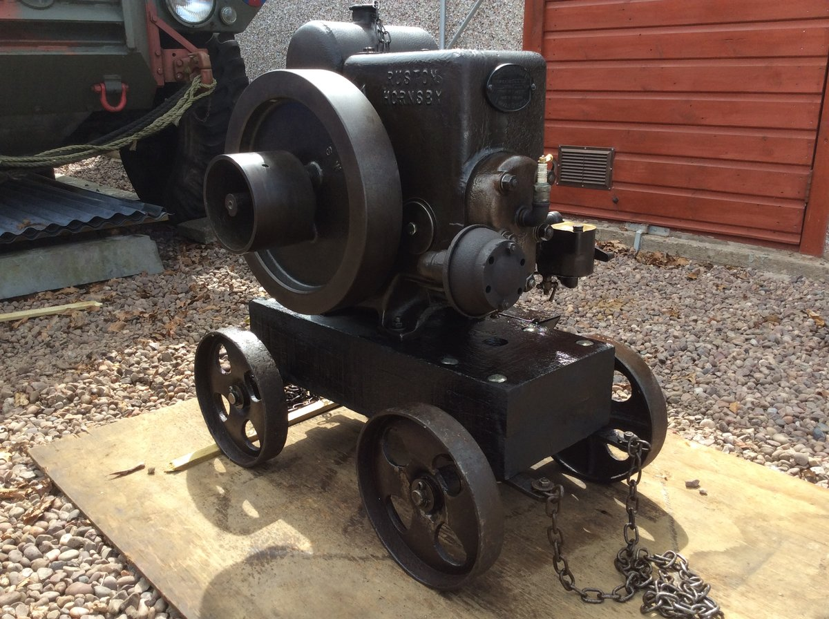 1941 Ruston-Hornsby 6PB Vintage Petrol Engine For Sale (picture 1 of 6)